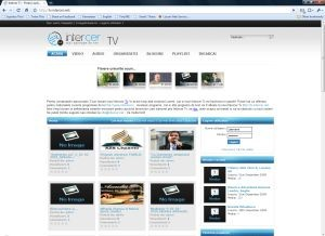 New Intercer Tv 2.0 – Jan.- April 2010 testing